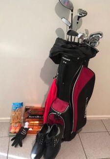 Men's new set of left handed Golf Clubs package