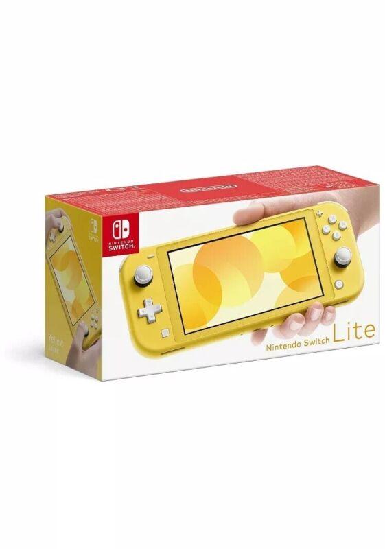 Nintendo+Switch+Lite+Console+-+Yellow