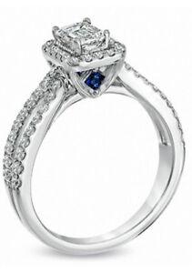 Vera Wang Emerald cut Diamond Ring