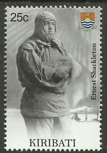 KIRIBATI-2009-SEAFARING-ERNEST-SHACKLETON-Antarctic-Explorer-Single-Stamp-MNH