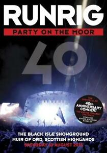 Runrig - Party On The Moor - 40th Anniversary Concert  (2 DVD) Free UK P&P