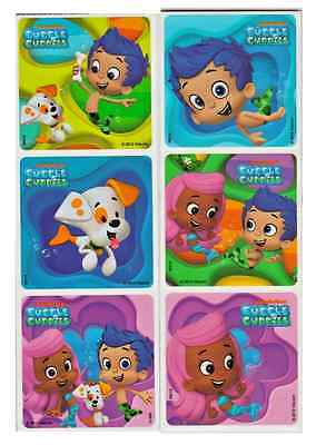 30 Bubble Guppies Character Stickers, 2.5