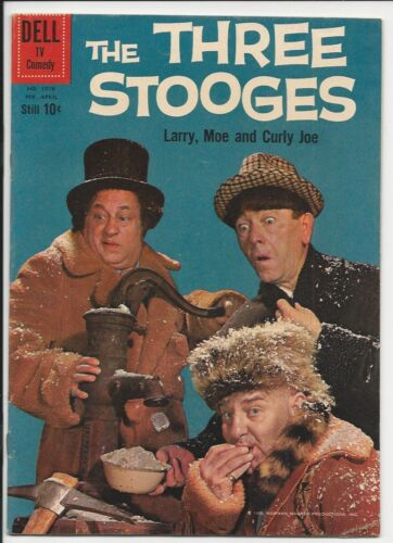 1960 Dell Four Color #1078 The Three Stooges VF