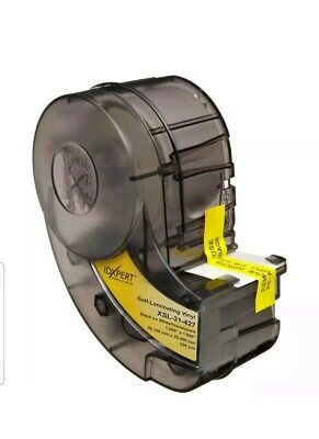Brady 60342 Idxpert Series Self-laminating Vinyl Wire And Cable Label Xsl-31-427