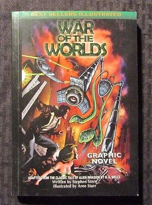 2005 WAR OF THE WORLDS Graphic Novel SC 1st Best Sellers Illustrated VF+