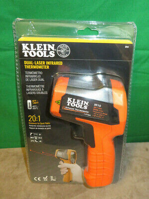 Klein Tools Ir10 Dual-laser Infrared Thermometer 201 Ratio - New