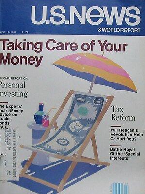 Us News   World Report Magazine June 10 1985