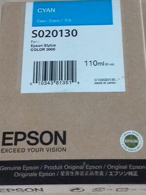 Epson S020130  Tinte cyan für Stylus Color 3000   2014  OVP B (Cnn Com)