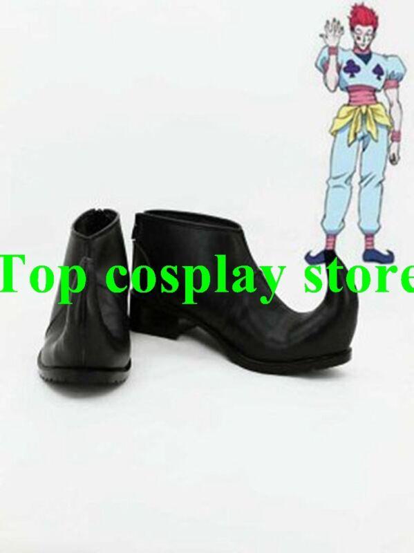 Hunter X Hunter Hisoka Cosplay Ankle Boots shoes #HXH006 shoe boot