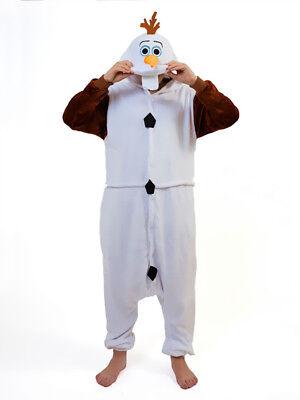 Regalo de Navidad Olaf Onesiee Disfraz de Kigurumi con Capucha Pijama Mono
