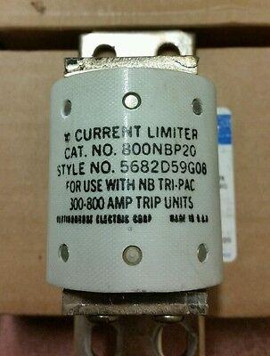 Cutler Hammer Westinghouse Current Limiter 800nbp20