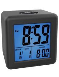 Digital Alarm Clocks - Kids Clock with Snooze and Purple Nightlight