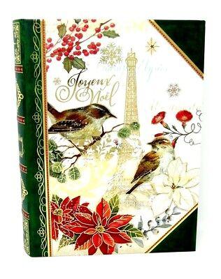 Punch Studio Keepsake Book Nesting Box Joyeux Noel Paris 19996 Large Christmas