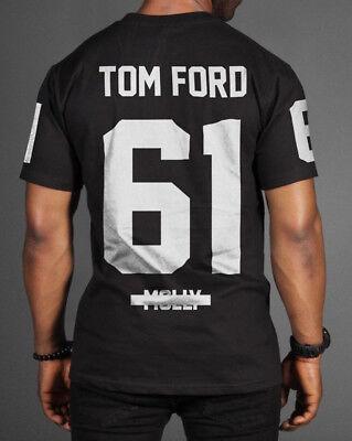 Mens T Shirt Tom Ford Custom Hip Hop Rap Jay Z Streetwear Molly