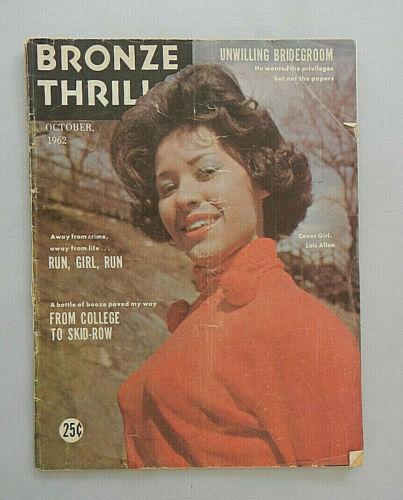 Magazine - Vintage Magazine - African American Magazine - Bronze Thrills
