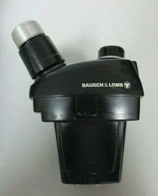 Bausch Lomb Stereozoom 3 1.0x-2.5x Black Microscope Head
