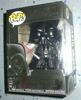 Star Wars Funko Pop Vinyl Bobblehead Figure - Lights & Sound Darth Vader # 343