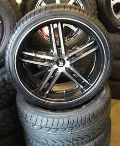 """20"""" BMS Kontra Wheels and Tyres To Suit Falcon, Commodore & BMW Toowoomba Toowoomba City Preview"""