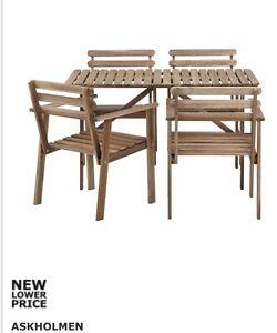 Askholmen outdoor table setting. Brand new in box! Morphett Vale Morphett Vale Area Preview