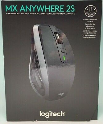 New Logitech MX Anywhere 2S Wireless Mobile Mouse 910-005132