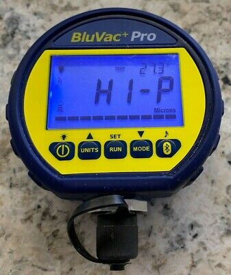 Accutools Bluvac Plus Pro Wireless Digital Vacuum Gauge