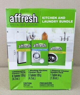 Affresh Bundle For Kitchen & Laundry! Washing Machine, Dishwasher & Disposal!