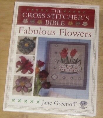The Cross Stitcher Bible Fabulous Flowers by Jane Greenoff for sale  Shipping to South Africa