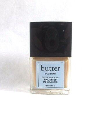 Butter London Sheer Wisdom Nail Tinted Moisturizer ~ Neutral ~ 0.4 oz