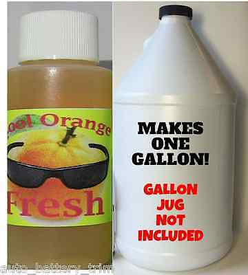 Orange Dog Odor Eliminator - Industrial Strength Pet Odor Remover 1oz Makes 1 GL