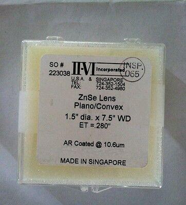 Co2 Laser Cutting Lens 7.5  38mm Dia  190.5 Mm Focal Length