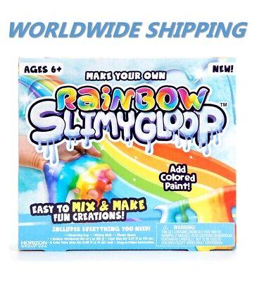 Rainbow Fizzygloop Fun Slime Kit for Kids and Teens WORLDWIDE - Fun Crafts For Teens