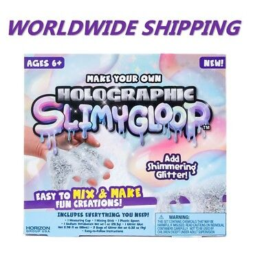 Holographic Fizzygloop Fun Slime Kit for Kids and Teens WORLDWIDE - Fun Crafts For Teens