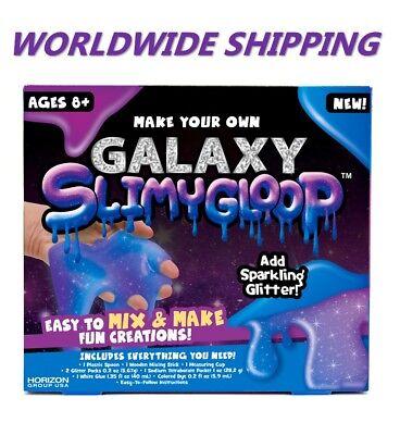 Galaxy Fizzygloop Fun Slime Kit for Kids and Teens WORLDWIDE - Fun Crafts For Teens