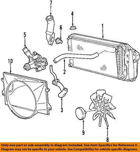 vacuum diagram for 2000 ford e150 econoline van ford oem 97 02 e 150 econoline club wagon radiator coolant lower  ford oem 97 02 e 150 econoline club
