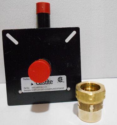 Gastite Xr3-l-apstub-11-11 34 Npt X 34 Csst X 2 14 Appliance Stub-out
