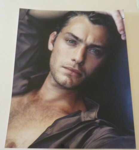 Jude Law Actor Sexy 8x10 Color Promo Photo #2