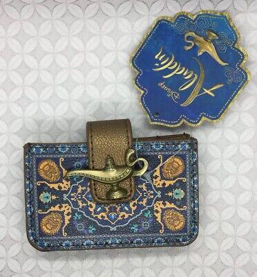 Disney Aladdin Lamp Magic Carpet Accordion Wallet Card Holder NEW bioworld