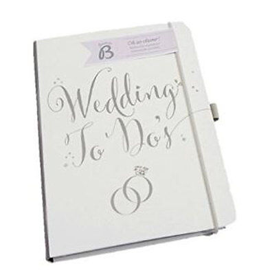 Wedding To Do's - Wedding Planner Book Diary Journal Organiser Engagement Gift