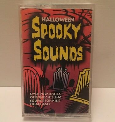 Halloween Cassette Tape Spooky Sounds - 70 Minutes - New Old Stock