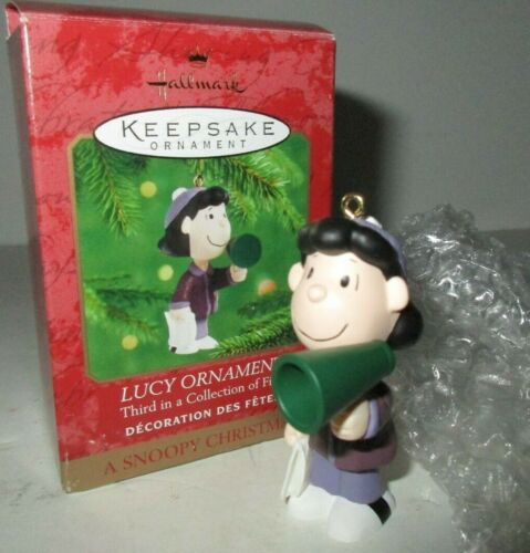 Hallmark Keepsake Lucy A Snoopy Christmas Third In Collection Ornament