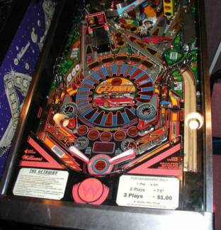 WANTED HAUNTED HOUSE,GODZILA PINBALL MACHINE Blacktown Blacktown Area Preview