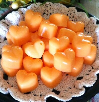 - 30 CHUNKY HEARTS Wax Tarts Strong Scented Handmade Candle Wax Melts U Pick Scent