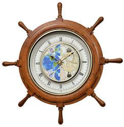 (New!) TIME TRIP Magic Musical Motion Clock by Rhythm Clocks 4MH405WU07