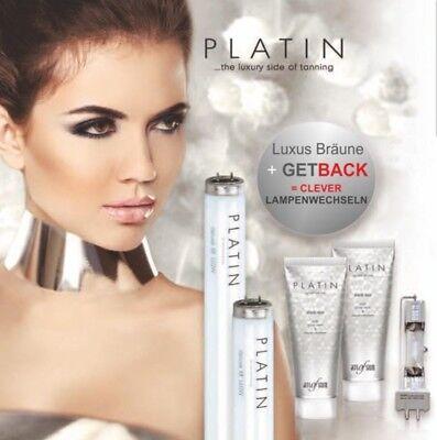 Platin Röhren + Kosmetik Gratis Solarium Sonnenstudio Ergoline Soltron UWE ....