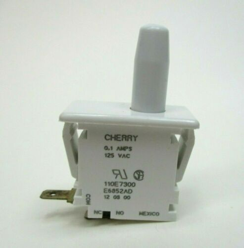 1pc - Cherry SPST Door Switch 0.1A, 125VAC - 0E6852AD Free Shipping USA
