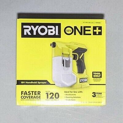 Ryobi 18v One Cordless Handheld Sprayer Tool Only Nib Free Priority Shipping