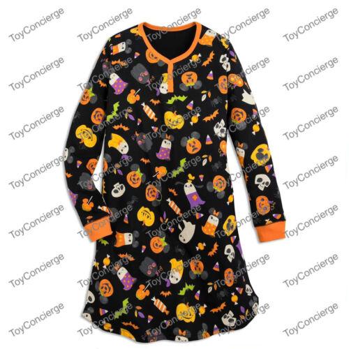 ^ DISNEY Store HALLOWEEN - NIGHTSHIRT for WOMEN - PUMPKIN - Size XL - NWT