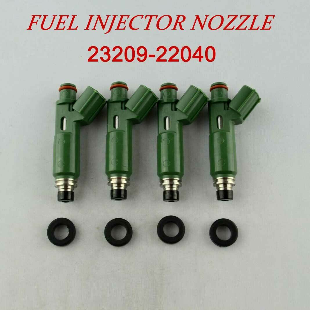23250-22040 OEM New 4X Fuel Injectors For Toyota Chevy Prizm Corolla 1.8L Engine