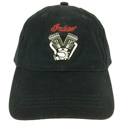 Indian Motorcycles Powerplus 100 Hat Spell Out Logo Biker Trucker Baseball Cap