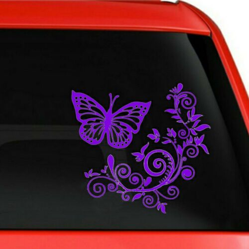 Butterflies vinyl stickers// car decals// window decals